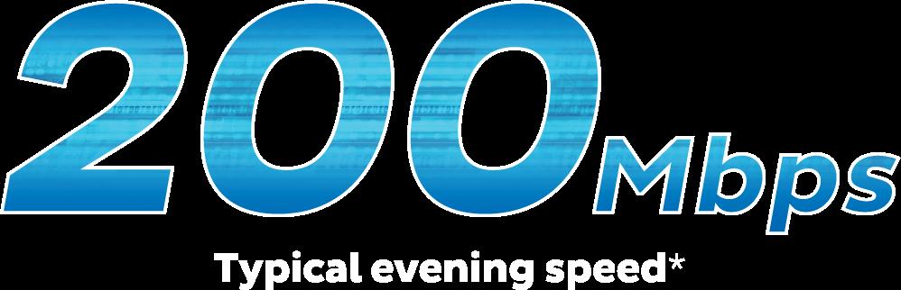 Ultra Broadband 200Mbps
