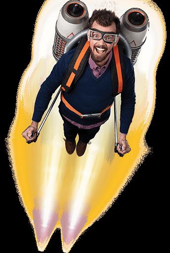 iiNet Finn Flying