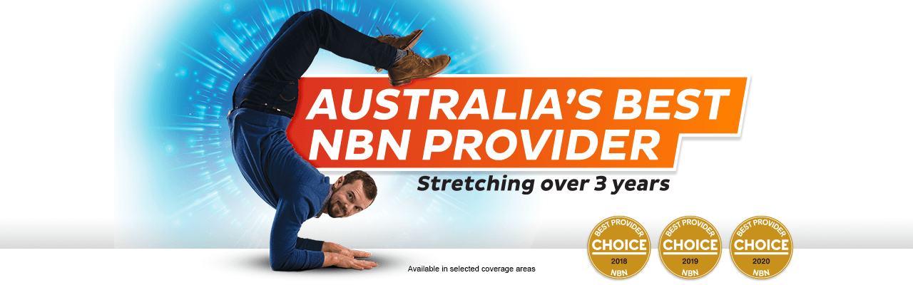 Australia's best nbn provider stretching over 3 years