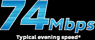 Ultra Broadband 74Mbps