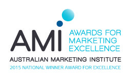 Australian Marketing Institute Winner 2015