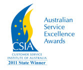 Customer Service Institute of Australia Awards