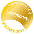 Money Magazine Cheapest International Calls Gold Winner