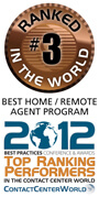 Contact Centre World Awards for Best Home / Remote Agent Program