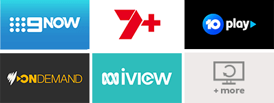 catch up channels, 9, 7, 10 play, sbs and abc iview